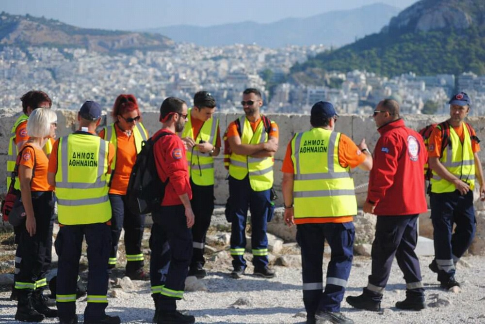 First aid provision for 75 th anniversary of the liberation of Athens