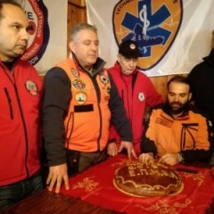 Cutting of the annual New Year´s cake - EPOMEA Thessaloniki