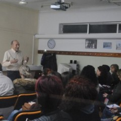 """Meteorology and Rescue"" seminar with Mr Tasos Arniakos"