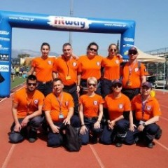 "First Aid Provision of the 32nd race ""Kalogreza Block 2017"" in the ""Icarus"" Stadium, Municipality of Nea Ionia"
