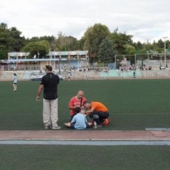 First Aid provision for the football tournament of the Primary schools of Egaleo