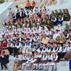 "Health coverage of the ""Two-day tribute to tradition"" at Petra Theater"