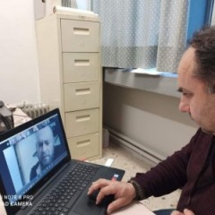 Teleconference on COVID-19 update between EVOLSAR members